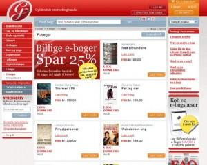 Tilbud på e-bøger hos Gyldendal