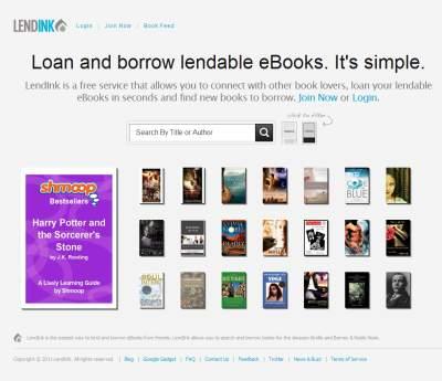 Lendink.com - en anden byttecentral for e-bøger