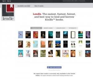 Lendle.me - ny nyttetjeneste for e-bøger