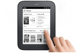 Nook Simple Touch e-reader