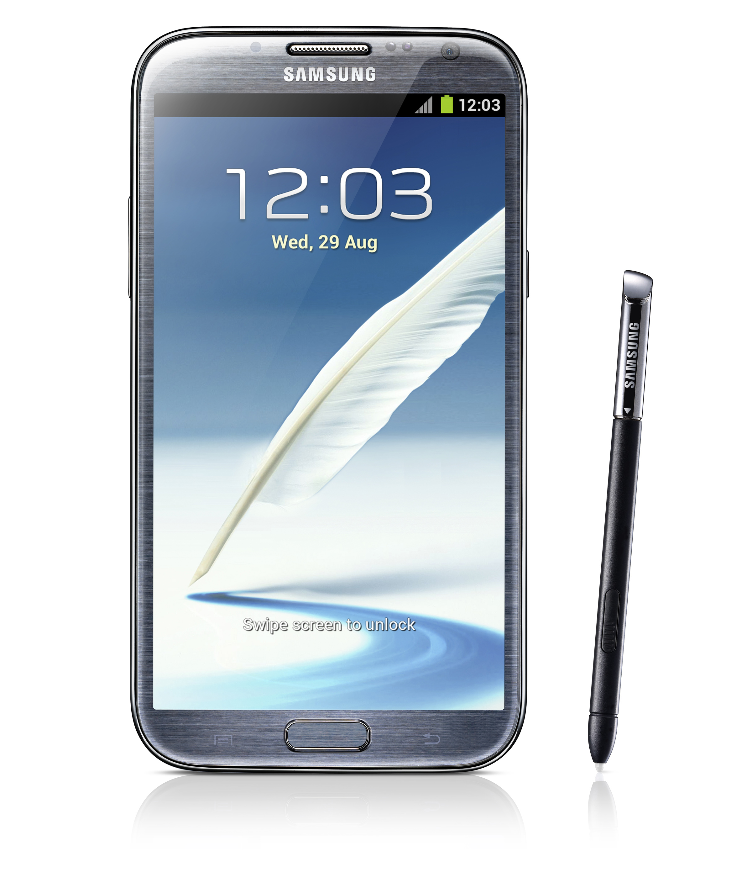 Samsung Galaxy Note II tablet