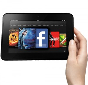 Amazon Kindle Fire HD tablet - Amazon er tilbage i gamet!