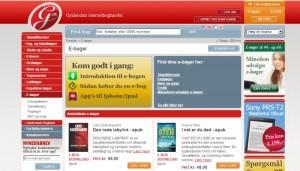 Gyldendals webshop