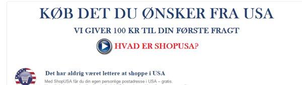 ShopUSA-tilbud